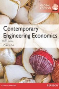Contemporary Engineering Economics Fourth Edition