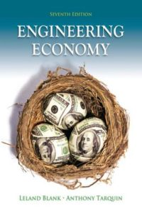 Engineering Economy 7th Edition